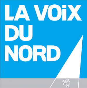 Vaxinano at the front page of La Voix du Nord